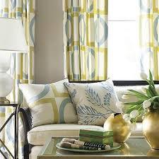 geometric curtains design ideas