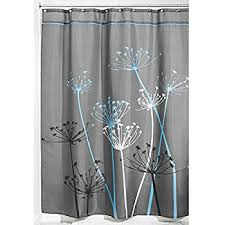 Kas Shower Curtain Amazon Com Interdesign Leaves Fabric Shower Curtain Stall 54