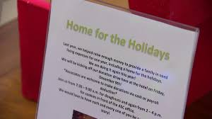 help gives two homeless families their home for the holidays