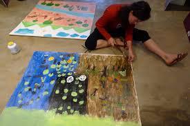 mural on wood muralinglearningdoing muraling lessons and more