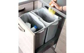 accessoire pour meuble de cuisine meuble poubelle cuisine poubelle de tiroir accessoire de rangement