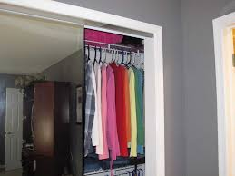 Sliding Doors Closets Organizing A Closet With Sliding Doors Storage Mirrored For