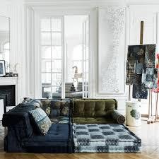 mah jong sofa fashion comes home kenzo takada reinvents the mah jong sofa for