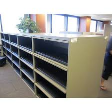 Lateral File Cabinet Used by Steelcase 4 Drawer Flip Front Lateral File Cabinet