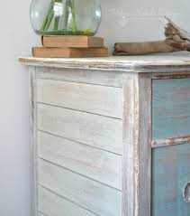 Wooden Furniture Paint How To Create A Whitewash Finish U2013 Helen Nichole Designs