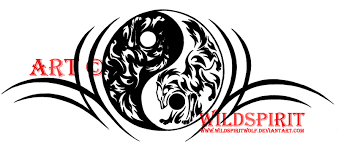 yin yang tribal wolf by wildspiritwolf on deviantart