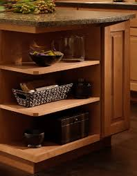 how to add a shelf to a cabinet base wall end cabinet shelves add style to your kitchen