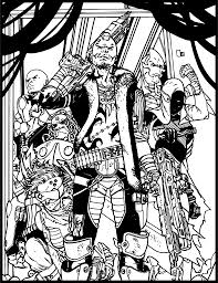 marvel comic coloring pages marvel color your own