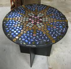 bottle cap table designs photo beer cap coffee table images 18 diy beer bottle cap table