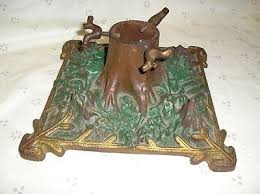 vintage tree stand cast iron w look of a real tree