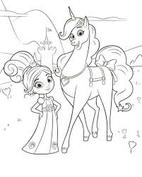 kids fun 13 coloring pages nella princess knight