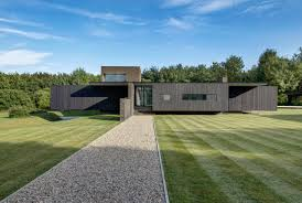home design ar a black house in kent inspired by local historic and modern