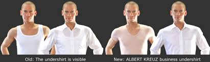 what to wear under a dress shirt albert kreuz