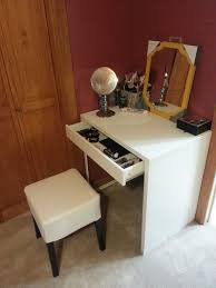 Small Vanity Table Ikea Ikea Micke Desk Makeup Storage Home Furniture Decoration