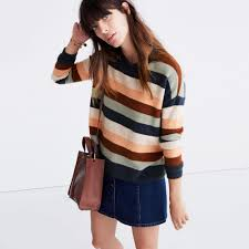 sweater in pullover sweater in elmwood stripe pullovers madewell