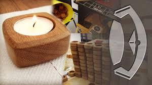handmade wooden tea light holders from start to finish youtube