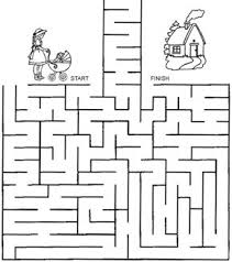 printable hard maze games free online printable kids games take amy home mazeand more for