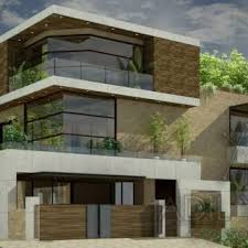 pakistani new home designs exterior views 3d night view