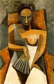 modigliani woman with a fan woman with a fan 1907 by pablo picasso