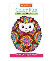design originals color fun coloring book joann