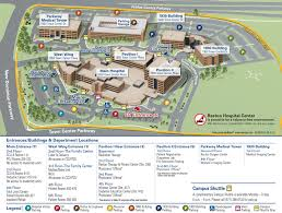 campus u0026 hospital maps reston hospital center