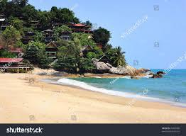 than sadet beach koh phangan thailand stock photo 76487458