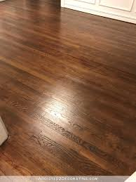 Quick Shine Floor Finish Remover by How We Refinished Our Old Hardwood Floors Via A Beautiful Mess