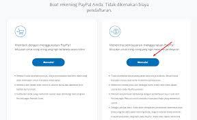 cara membuat paypal online fungsi paypal dan cara daftar membuat akun paypal gratis bisnis