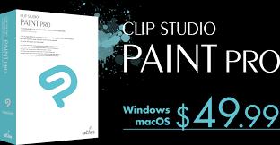 clip studio paint pro 49 99