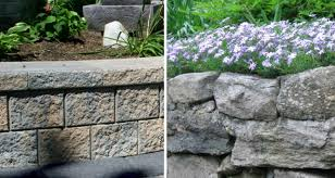 garden walls a primer on concrete or natural stone