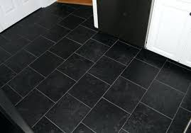 Grey Tile Laminate Flooring Midnight Black Slate Tilesblack Tile Effect Laminate Flooring