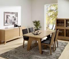 Oak Dining Room Contemporary Oak Dining Table Sl Interior Design