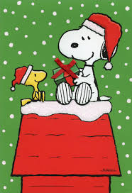 snoopy woodstock gift exchange box of 16 peanuts cards