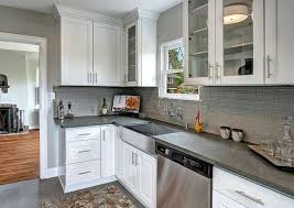 gray kitchen cabinets with white crown molding crown molding ideas 10 ways to reinvent any room bob vila