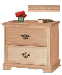 Unfinished Furniture Nightstand Remarkable Unfinished Furniture Nightstand With Wood