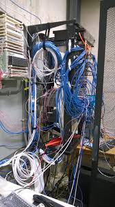 Messy Wires by Solved How To Best Clean Up A Server Room Cabling Mess