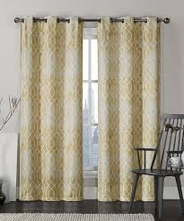modern two panels stripe brown bedroom cotton panel curtains two