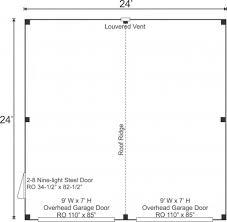 garage floor plan 24x24 garage kit post and beam garage jamaica cottage shop