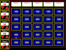 jeopardy review game template powerpoint free flash jeopardy