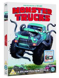 monster truck show uk monster trucks dvd digital download 2016 amazon co uk