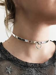 sterling silver choker necklace images Sterling silver choker boho choker minimalist choker silver 925 jpg