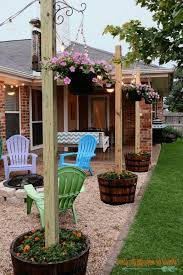 easy diy backyard ideas home design inspirations