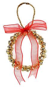 nicole crafts bell wreath ornament christmas kids craft