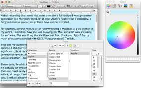 How To Count Words In Textedit In Mac Os X Are You Getting The Most Out Of Apple S Free Os X Word Processor