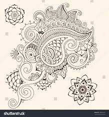 floral ornament stock vector 306651872