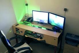 Best Computer Desk For Gaming Computer Desk Ideas For Gaming Custom Computer Desk Plans Best