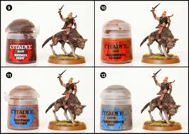 tutorial how to paint hunter orcs from the hobbit tale of painters