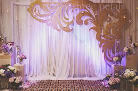 backdrops for weddings wedding backdrop with decorative cutout wedding decorating