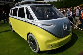 electric volkswagen van i d buzz concept the vw bus is back and it u0027s electric