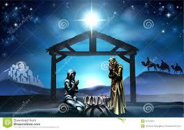 christmas manger christmas nativity stock vector illustration of baby 52137851